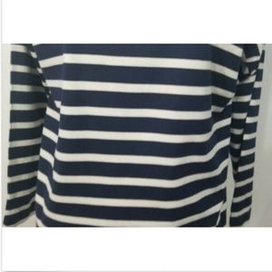 J. Crew Tops - J Crew Women's T Shirt Top Small Striped Pom Poms